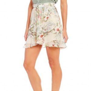 🆕Anthropologie faux wrap skirt